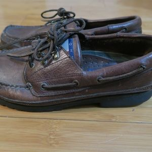 VTG Tommy Hilfiger Casual Leather Low Boat Shoes